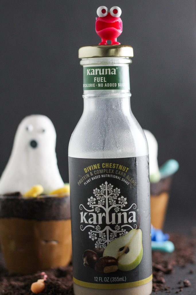 bottle of Karuna Beverages