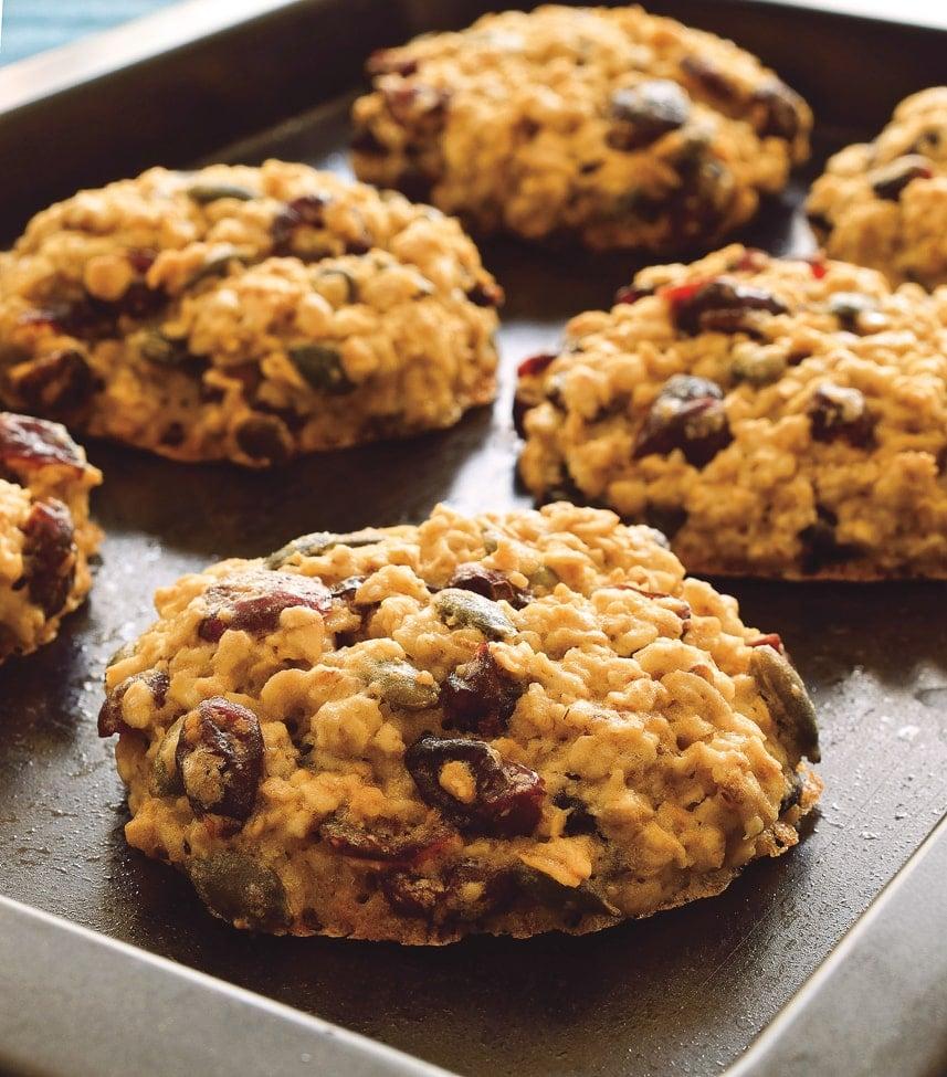 oatmeal cookies from 30 Minute Frugal Vegan Cookbook
